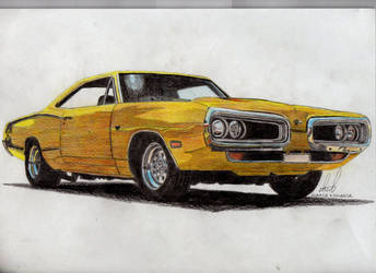 Dodge Coronet '70 by widowmaker440