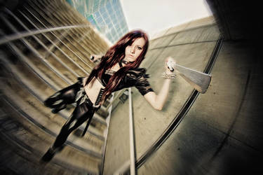 Anime Expo 2011 - Katarina by MikeRollerson