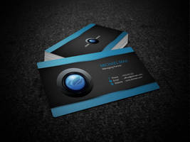 Business Card Mock up by 87scope