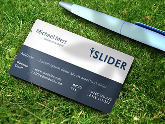 Business card mockup by 87scope