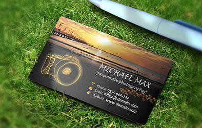 Photographer Business Card by 87scope