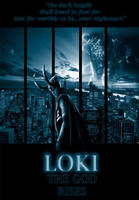 Loki movie poster by deaddarkness