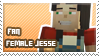 F!Jesse fan stamp by StampsMCSM