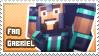 Gabriel fan stamp by StampsMCSM