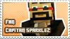 Capitan Sparklez fan stamp by StampsMCSM
