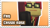 Cassie Rose fan stamp by StampsMCSM