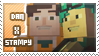 Dan/Stampy stamp by StampsMCSM