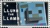 Lluna the Llama Fan Stamp by StampsMCSM