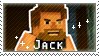 Jack Fan Stamp by StampsMCSM