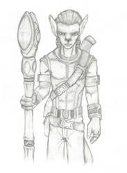 OLD SKETCH:Alien Race Character 1 by AA-art23