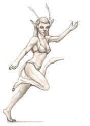 OLD SKETCH: Alien Character Design 2 by AA-art23