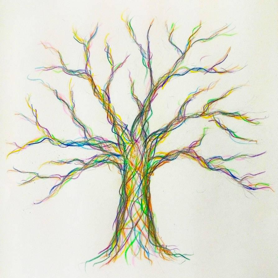Fingerprint Tree Template By F Flappy On Deviantart