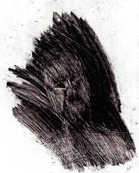 figure in darkness by Jowybean