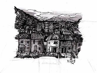 The urban scene returns by Jowybean