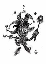 Mad Jester by Jowybean