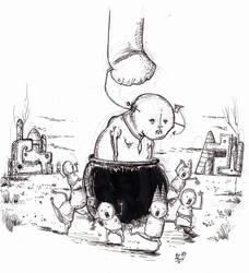 Pot man by Jowybean