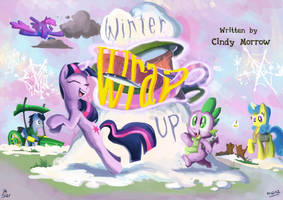 A little too early Twi:FIM title cards series by Jowybean