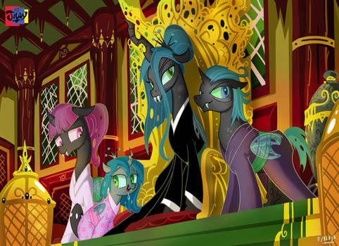 An Imperial Changeling family by Jowybean