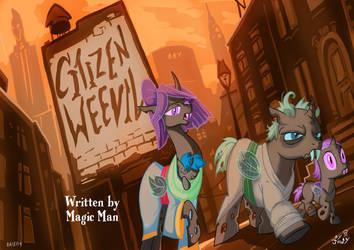 changelinghatten : fanfic title card by Jowybean