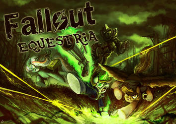 Fallout Equestria card commission by Jowybean