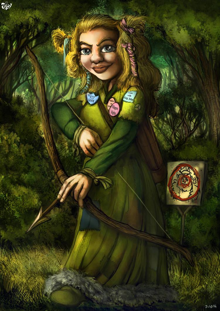 Maid Marian Portraits : Marian by Jowybean