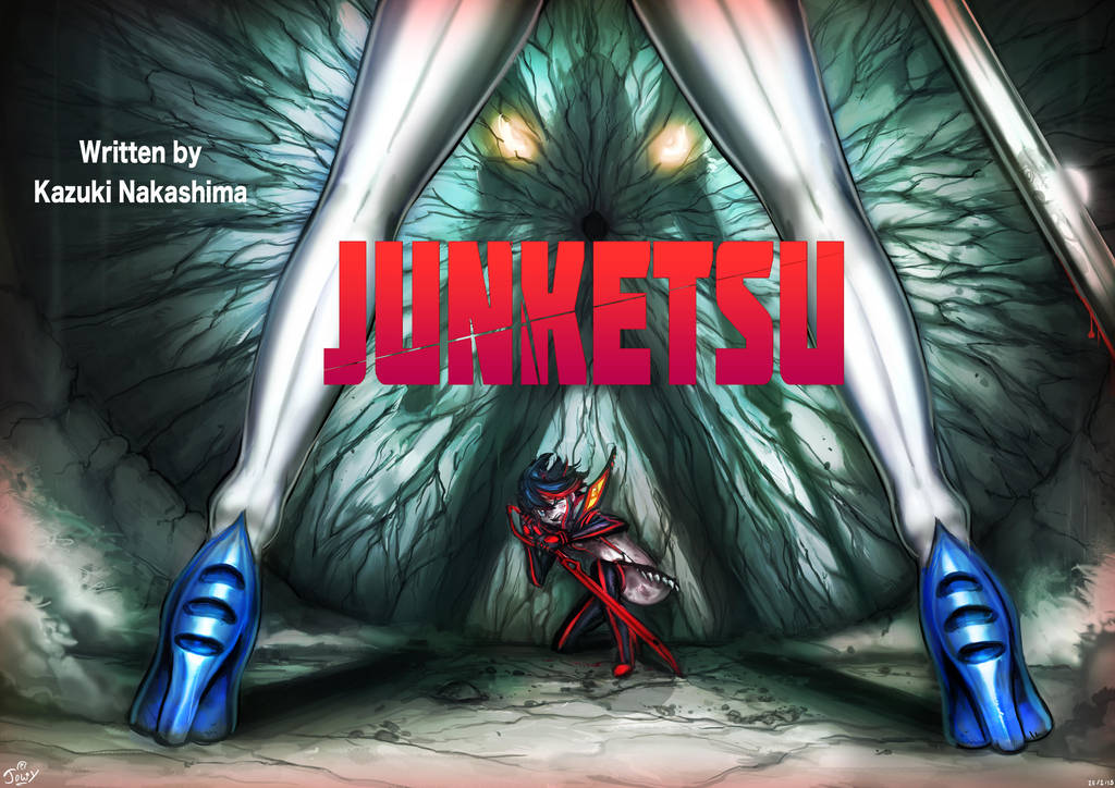 Lump of Flesh in a Kamui : KLK title cards by Jowybean