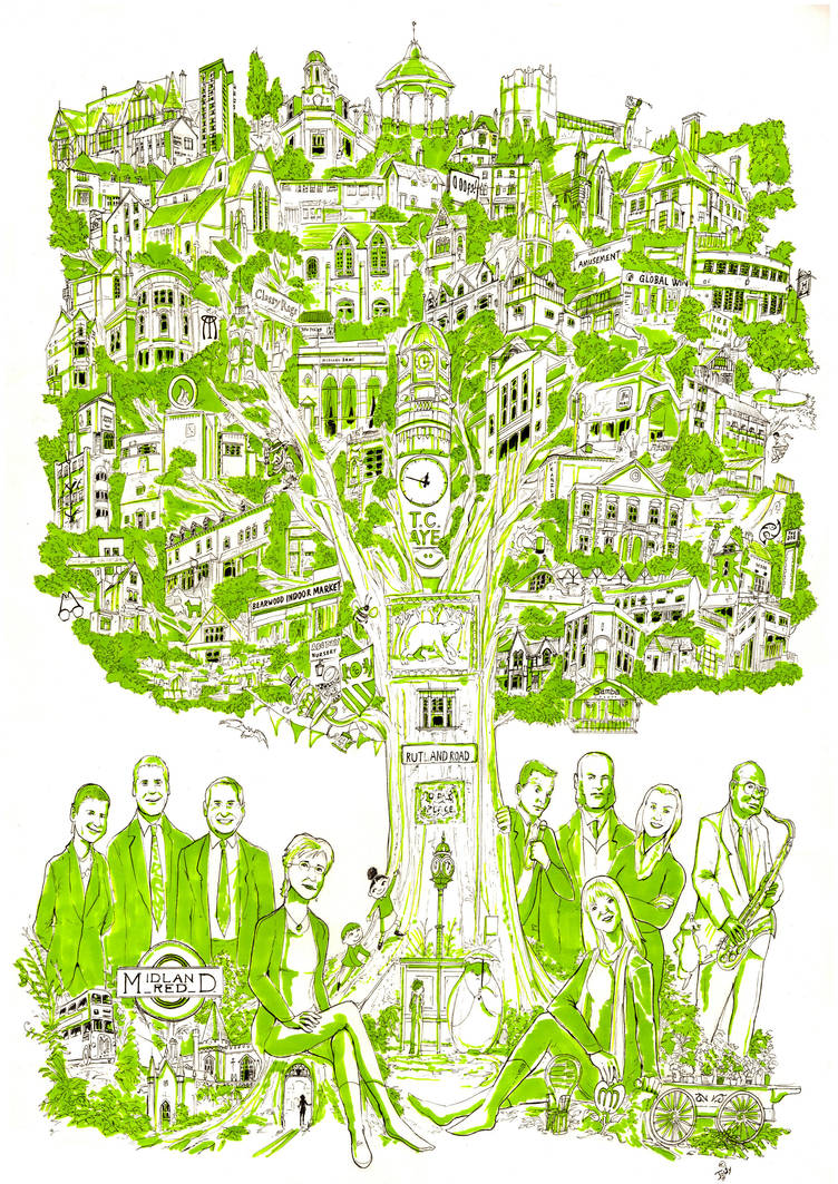 Bearwood poster by Jowybean