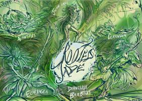 Rooted Jade sketch by Jowybean