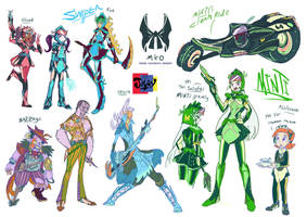 Minti Maids Knight Order idea by Jowybean