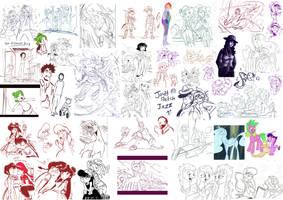 jowy Sketch Jazz 11 by Jowybean