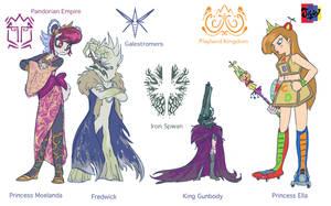 Princesses and their Enemies by Jowybean