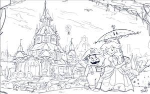 Cake stroll Sketch by Jowybean