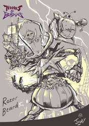 Razorbeard by Jowybean