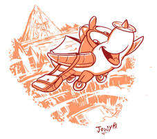 June toon Fly by Jowybean