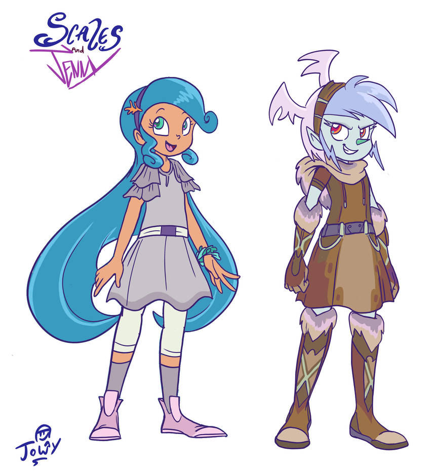 Project Scales and Jenny arc 1 designs by Jowybean