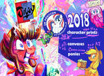 UK Ponycon 2018 here I come by Jowybean