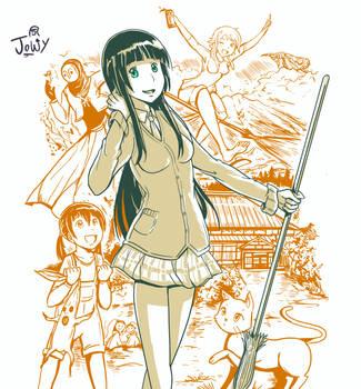 Kawaiicember Makoto by Jowybean