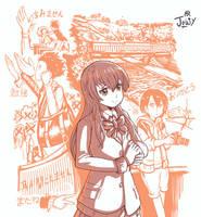 Kawaiicember Nishimiya by Jowybean
