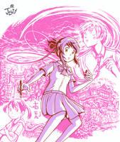 Kawaiicember Mitsuha by Jowybean
