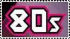 The 80's stamp by sleazeroxx