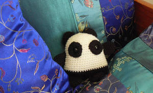 Crochet Panda by Jequila
