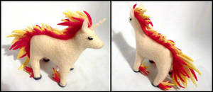 Rapidash Plushie by Jequila