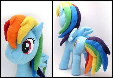 Rainbow Dash Plushie 2 by Jequila