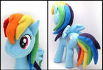 Rainbow Dash Plushie 2 by Jequila