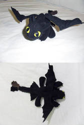 Toothless Plush by Jequila