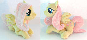 Fluttershy Plushie by Jequila