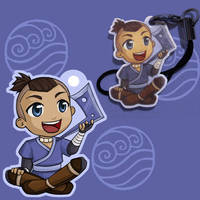 Sokka Phone Charm by Jequila