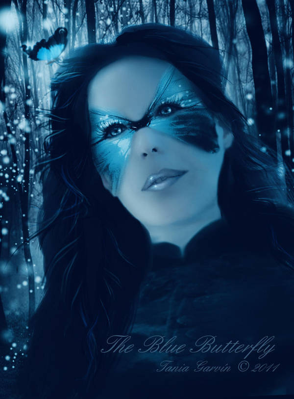 The Blue Butterfly by TaniaGarvin