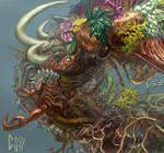 The Infinite Birth Closeup by CBSorgeArtworks