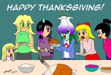 Thanksgiving 2018 by pheeph